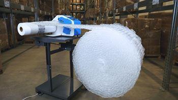 Obrázek Fólie pro výrobu vzduchové výplně - bublinky - 30x40x4cm
