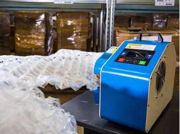 Obrázek z Fólie pro výrobu vzduchové výplně - bublinky - 30x50x4cm