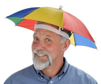 Obrázek Deštník na hlavu
