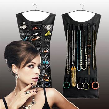Obrázek Organizér na šperky - černá barva