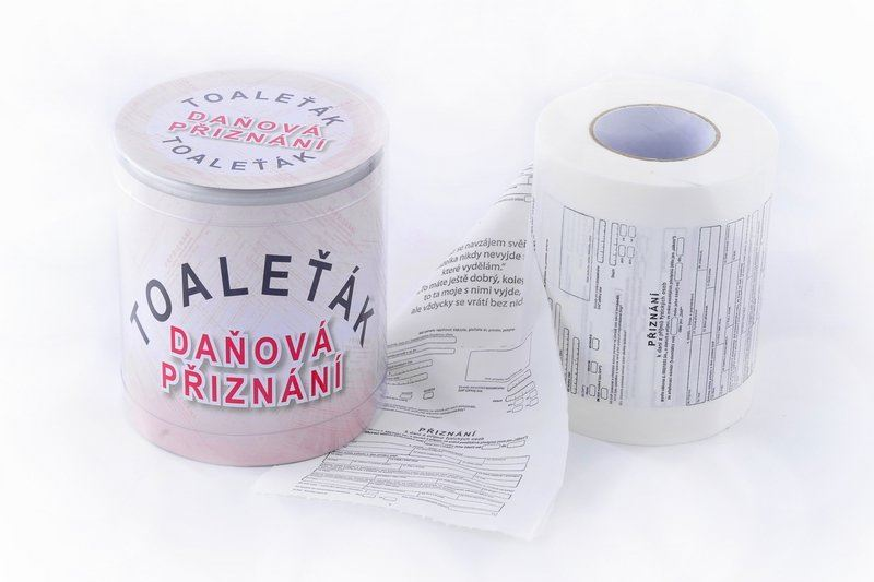 Toaletní papír daňové přiznání