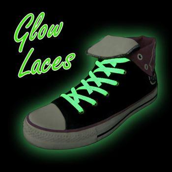 Obrázek Svítící tkaničky - zelené