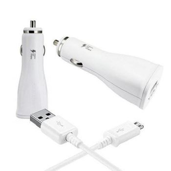 Obrázek Nabíječka do auta + micro USB kabel