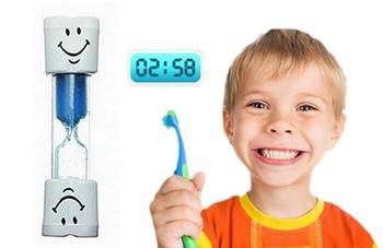 Obrázek Přesýpací hodiny na čištění zubů - modré