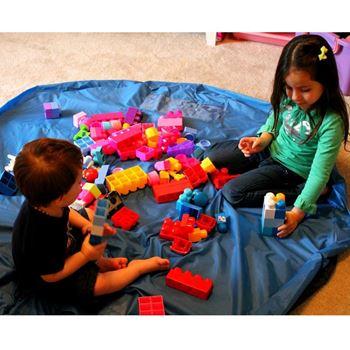 Obrázek Vak na hračky modrý - malý
