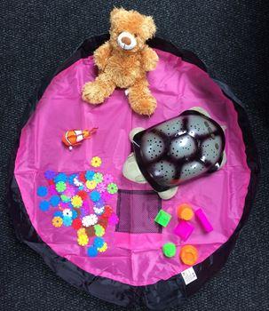 Obrázek Vak na hračky růžový - malý