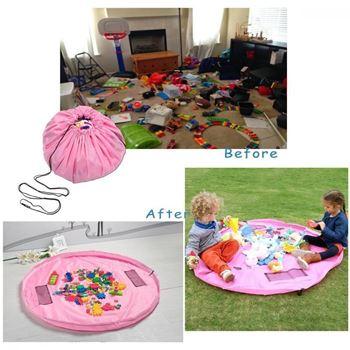 Obrázek Vak na hračky růžový - velký