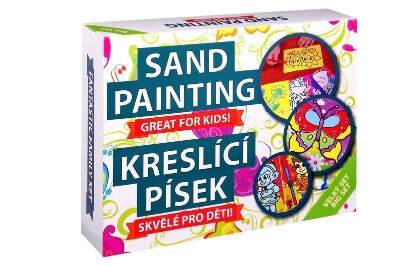 Kreslící písek velký set
