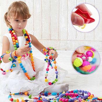 Obrázek Dětské barevné korálky