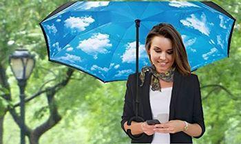 Obrázek Obrácený deštník - nebe