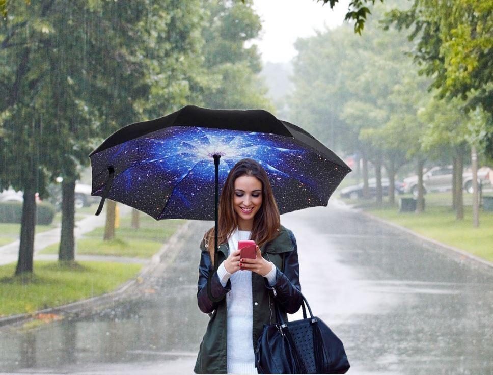 Obrácený deštník - vesmír