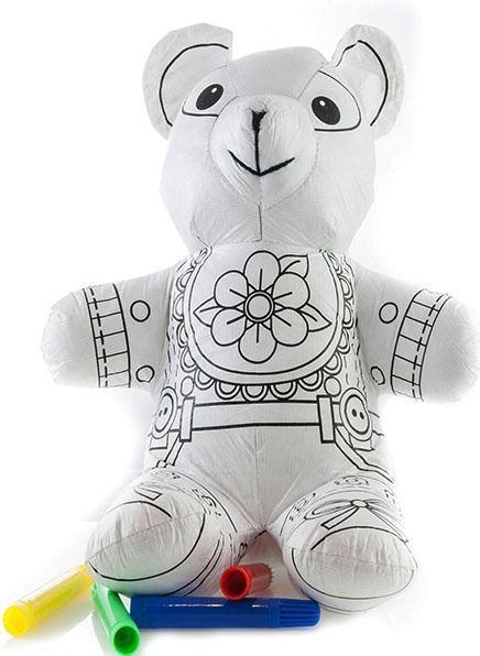 Vybarvovací zvířátko - medvěd