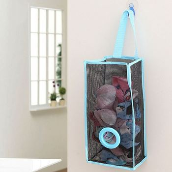 Obrázek Zásobník na igelitové pytlíky - modrý