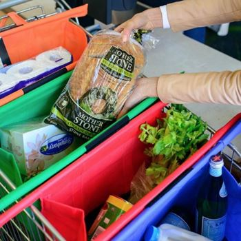 Obrázek Sada nákupních tašek do košíku