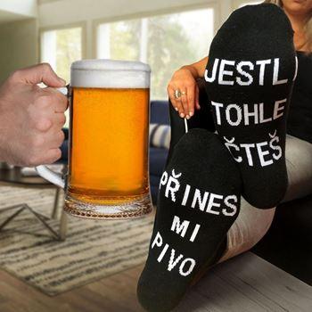 Obrázek Ponožky - Přines mi pivo