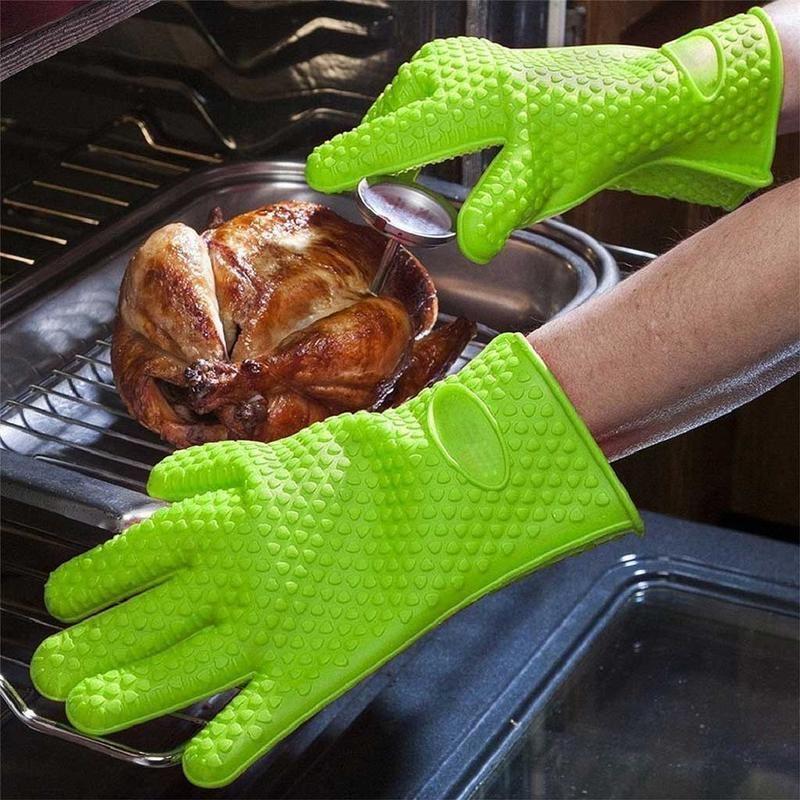 Silikonová kuchyňská rukavice