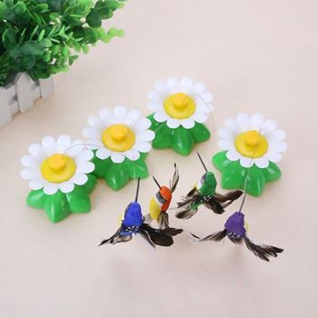 Obrázek z Hračka pro kočky – létající kolibřík