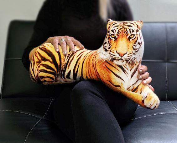 Polštář - 3D tygr