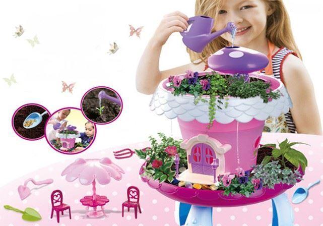 Pohádková zahrada - růžová