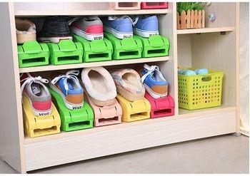 Obrázek Plastový organizér na boty - zelený