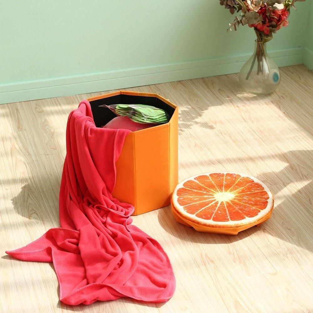 Taburet - pomeranč