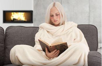 Obrázek Televizní deka - krémová