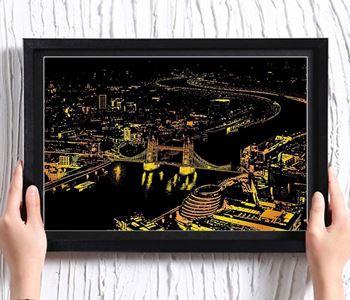 Obrázek Stírací obraz - Londýn