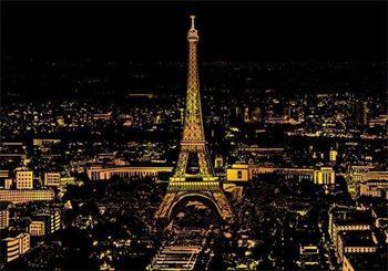 Obrázek Stírací obraz - Paříž