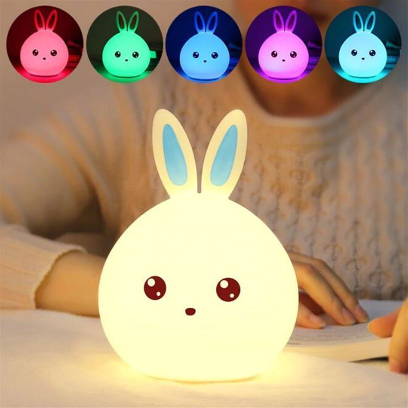 Dětská lampička - modrá