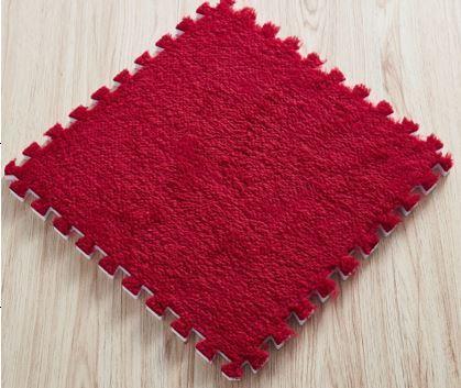 Puzzle Kobereček - 6 Ks - červený