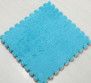 Puzzle Kobereček - 6 Ks - modrý
