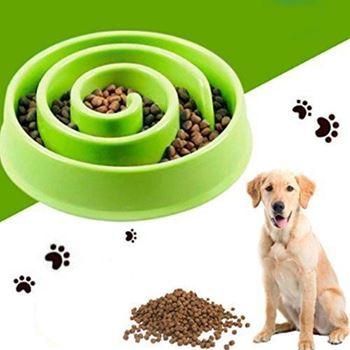 Obrázek Miska pro pomalé krmení - zelená
