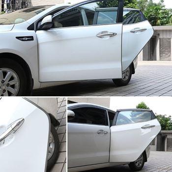 Obrázek Ochranné lišty na auto 5 m - šedé