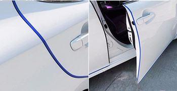 Obrázek Ochranné lišty na auto 5 m - tmavě modré