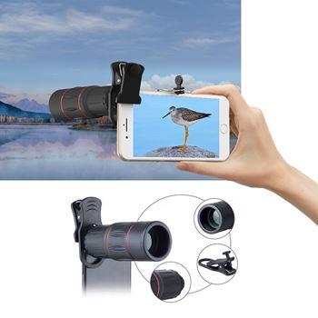 Obrázek Zoom objektiv na telefon