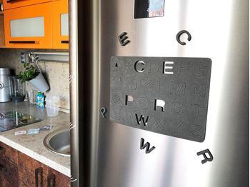 Obrázek Magnetická písmena na lednici