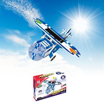 Obrázek Solární letadlo - modré