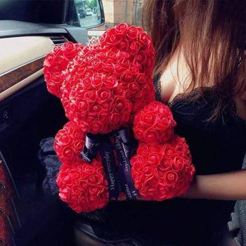 Obrázek Medvídek z růží