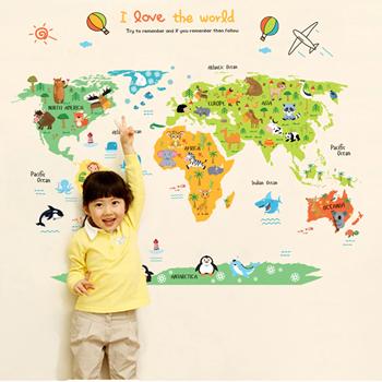 Obrázek Dětská mapa světa
