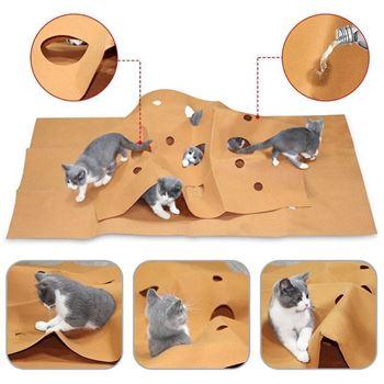 Obrázek z Zábavná deka pro kočky