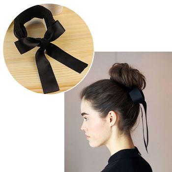 Obrázek Klip do vlasů s mašlí - černý