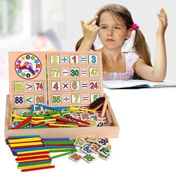 Obrázek Dřevěná vzdělávací tabulka