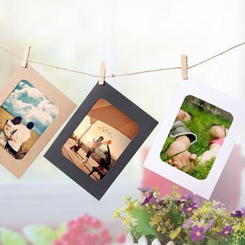 Obrázek Závěsné papírové fotorámečky