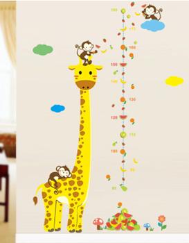 Obrázek Nalepovací metr - žirafa