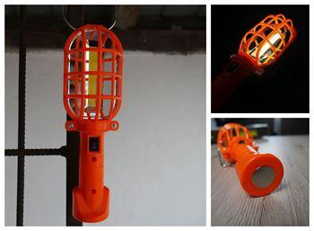 Obrázek Přenosná svítilna - oranžová