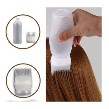 Obrázek Lahvička s hřebenem na barvení vlasů