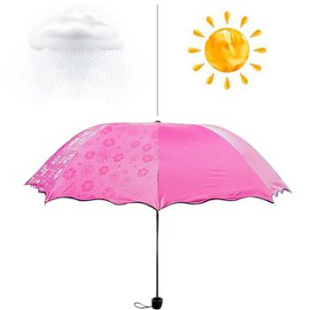 Obrázek Magický deštník - tmavě růžový