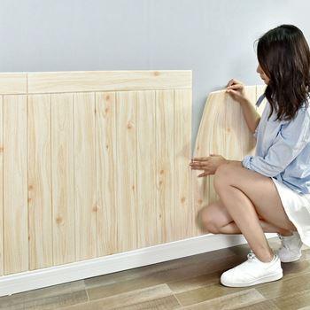 Obrázek 3D tapeta - světlé dřevo