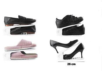 Obrázek z Plastový organizér na boty - bílý