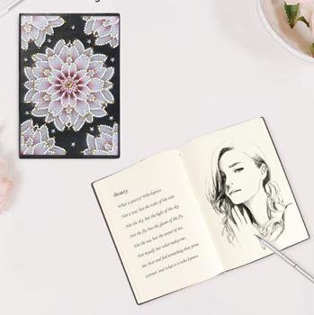 Obrázek Vyšperkuj si deníček - květina
